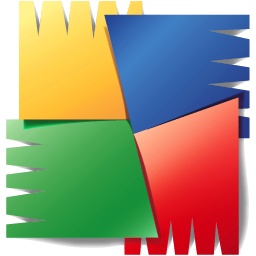 Logo de AVG una solución antivirus