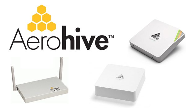 Logo Aerohive y routers